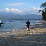 Looking towards lombok