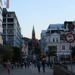 Отель на центральной площади Бергена