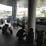 Shuttle Bus stop at Vivo City