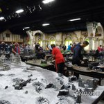 the massive war gaming hall
