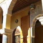 A l'intérieur du Riad
