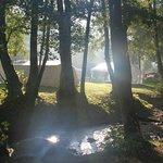Terrein met tenten