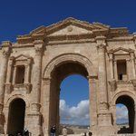 Entry gate of Jerash