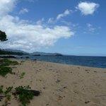 La plage à proximité du lodge