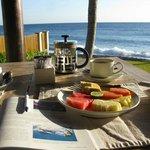 udsigt til morgenmaden