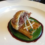 Pithivier of ox tongue