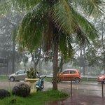 прекрасный вид. Даже в дождливую погоду всегда чувствовали себя уютно в этом месте!