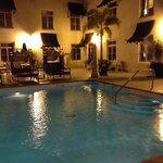 Pool Deck of hotel