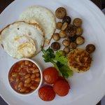 Yummie Vegetarian Breakfast!