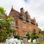 Front view of Hautbois Hall - Outdoor Wedding Ceremony