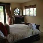 Haybarn double room with garden access