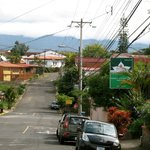 The neighborhood and mountains