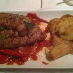 Grilled Italian Sausage/Peppers/Potatoes
