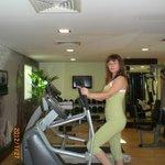 Спорт зал в отеле