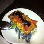 Focaccia de sardinas
