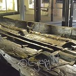 Another picture of the Dover Bronze Age Boat