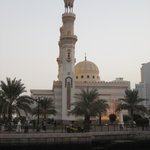 Al Qasba mosque by the canal