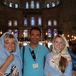 Aykut our Guide and our Istanbul friend!