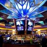 Sunburst Bar in the center of the gaming floor.