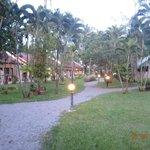 территория отеля