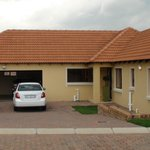 Double Garage and ample parking outside each villa