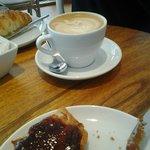 Café y tostada