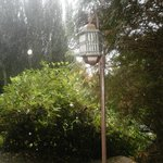 A fabulous Edwardian lamp in the grounds