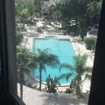 View of pool from room 868