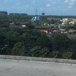 From from Downtown Disney room