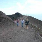 A walk to the Vulcano (Vesuvio)