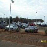Парковка для автомобилей.