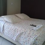 Foto da cama.