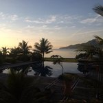 room with a view: prachtig uitzicht op de Baguala baai