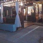 veranda del ristorante