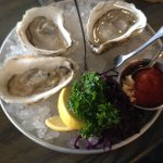 Oysters on the half