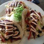 Blackened tacos
