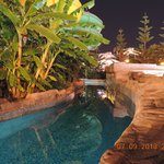 lazy river night shot