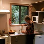 Well equipped cottage kitchens