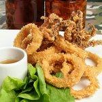 Deseos Peligrosos: calamares crocantes con salsa agridulce de piña