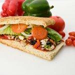 Medi Veggie sandwich