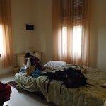 Interno camere Villa Elda