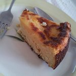 Tarte de queijo fresco