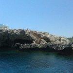Вид на береговую линию - путешествие за 10 евро