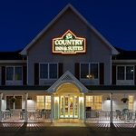 CountryInn&SuitesMtMorris ExteriorNight