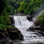 Lower Falls At Letchworth State Park ,New York ,US