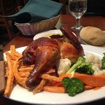The Roast Chicken Dinner is Superb!