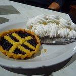 tarte myrtilles et meringue