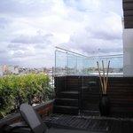 Jacuzzi de la terraza