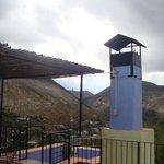 Chimenea Habitacion Gris, Vista desde el Balcon/ Terraza SUperiro