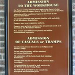 Workhouse sign
